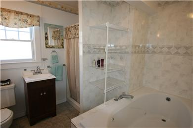 Dennisport Cape Cod vacation rental - Master Bathroom First floor