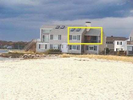 Hyannis Cape Cod vacation rental - View from Kalmus Beach
