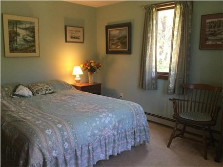 North Truro Cape Cod vacation rental - 1st floor queen bedroom.
