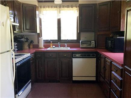 Truro Cape Cod vacation rental - Fully applianced kitchen.