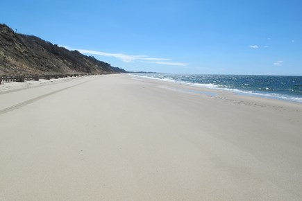 North Truro Cape Cod vacation rental - Beautiful bay beach, a short walk away.