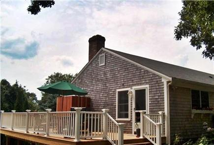 East Dennis Cape Cod vacation rental -  Deck including hot tub and outside shower