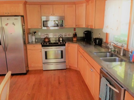 East Dennis Cape Cod vacation rental - Kitchen with new appliances