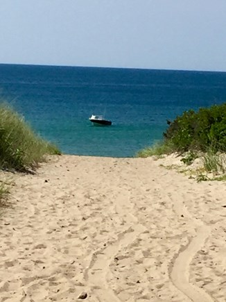 Dennis Cape Cod vacation rental - Entrance to Dr. Lord's Beach