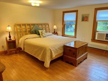 Dennis Cape Cod vacation rental - Downstairs California king bed