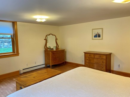Dennis Cape Cod vacation rental - Downstairs bedroom with California king bed