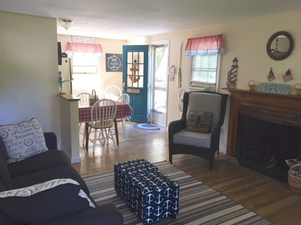 West Yarmouth Cape Cod vacation rental - Living Room/Kitchen