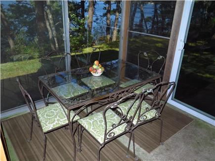 Harwich Cape Cod vacation rental - Open deck on one side, enclosed patio on the other
