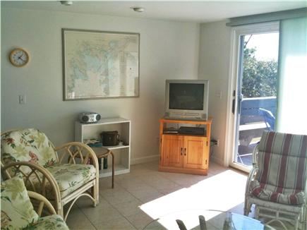 Bourne Cape Cod vacation rental - Living Room and TV