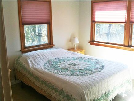 Bourne, Cataumet, Scraggy Neck Cape Cod vacation rental - Master Bedroom with queen size bed, water view and window A/C.