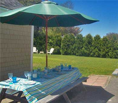 Hyannis Port Cape Cod vacation rental - Barbecue & relax with happy drinks, seafood and ocean breezes.