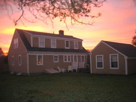Hyannis Port Cape Cod vacation rental - Big hard-to-find fenced-in yards for privacy & play