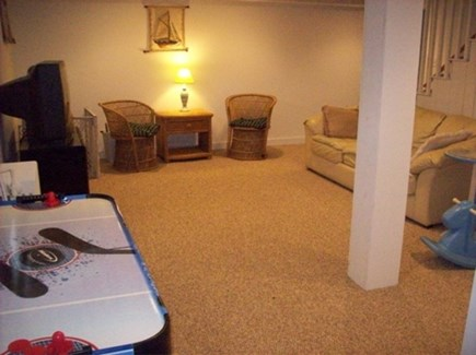 Hyannis Port Cape Cod vacation rental - Bonus room- Great for youth; TV, movies, toy closet, games, etc.