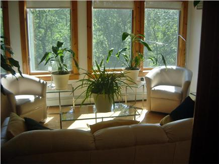Wellfleet Cape Cod vacation rental - Living Area facing South