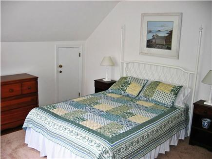 North Chatham Cape Cod vacation rental - Upstairs Master Bedroom (queen bed)