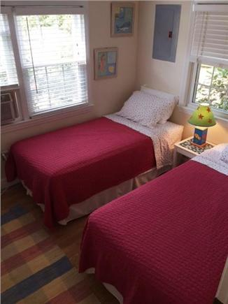 Brewster Cape Cod vacation rental - Pink bedroom with 2 twin beds