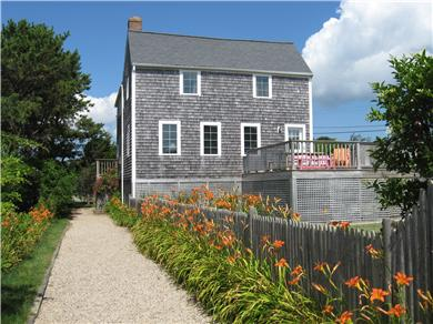 Chatham Cape Cod vacation rental - The front of the house faces toward the beach.