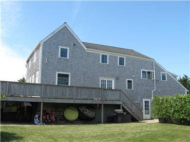 Chatham Cape Cod vacation rental - View of the house from the fenced side yard