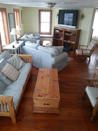Chatham Cape Cod vacation rental - Living room has two comfy seating areas.