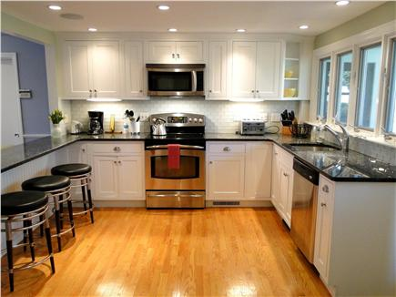 Chatham Cape Cod vacation rental - Large, bright kitchen with stainless steel appliances