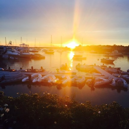 Falmouth Cape Cod vacation rental - Sunset at Chart Room