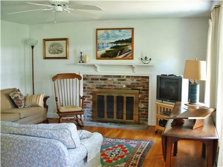 East Brewster Cape Cod vacation rental - Gracious and comfortable living room