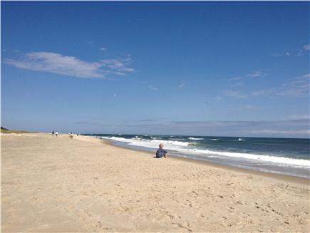 East Orleans Cape Cod vacation rental - Beautiful Nauset Beach:  5 minute drive from your cottage!