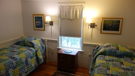 South Harwich, Red River Beach Cape Cod vacation rental - #2 Bedroom with 2 Twin Beds, Trundle Bed Under, and TV