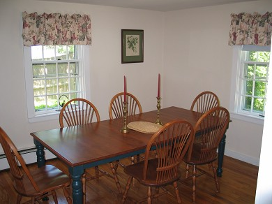 Harwichport Cape Cod vacation rental - Dining Room