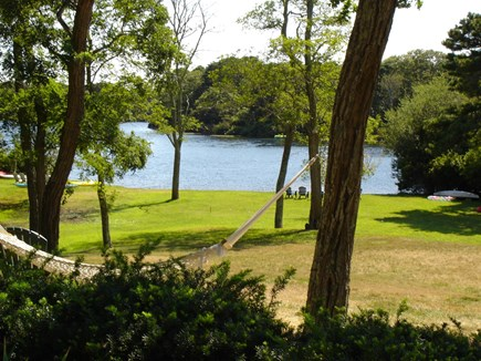 Eastham Cape Cod vacation rental - Depot Pond, view from dining room