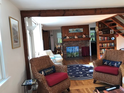 East Falmouth Cape Cod vacation rental - 1st Floor Circulation