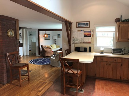 East Falmouth Cape Cod vacation rental - View of 1st Floor from Kitchen