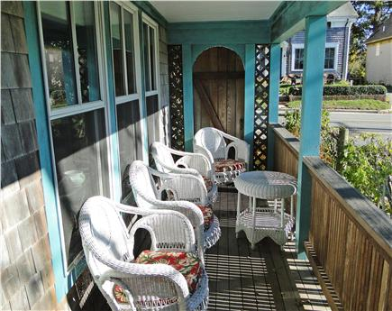 Woods Hole Woods Hole vacation rental - Peaceful porch with beautiful water views
