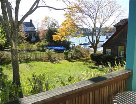 Woods Hole Woods Hole vacation rental - Viewof water, town from side porch