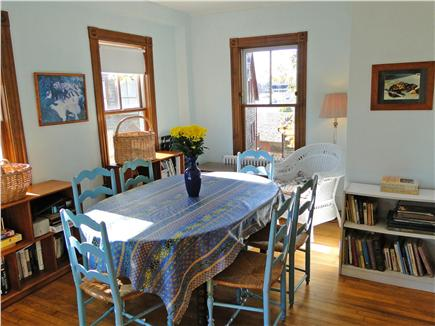 Woods Hole Woods Hole vacation rental - Sunny dining room, seating for 6