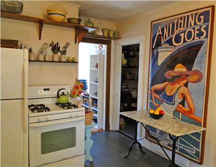 Woods Hole Woods Hole vacation rental - Rustic old-fashoned kitchen, well stocked