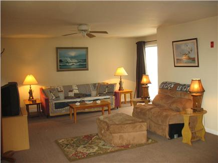 Mashpee Cape Cod vacation rental - Living Room  Queen sofa bed  With Tv,Dvd and Vcr