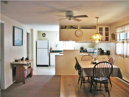Mashpee Cape Cod vacation rental - Dining Area  With kitchen area beyond