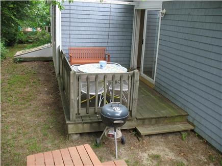 Mashpee Cape Cod vacation rental - Deck        Great for Morning coffee  Or evening BBQ