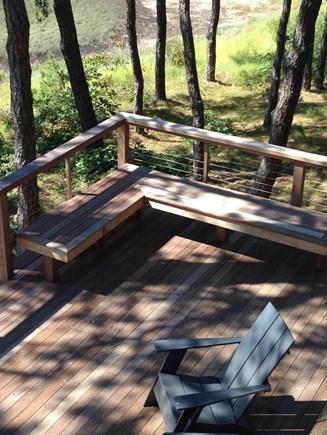 Wellfleet Cape Cod vacation rental - Corner seating.