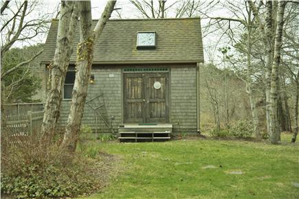 Wellfleet Cape Cod vacation rental - Light-filled cottage: double front doors open out.