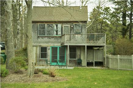 Wellfleet Cape Cod vacation rental - From the back yard with outdoor shower and fenced area