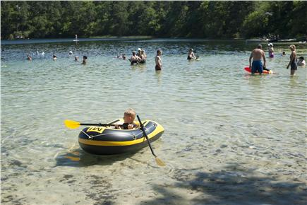 Wellfleet Cape Cod vacation rental - Long Pond, one of a dozen clear, fresh water kettle ponds in Well