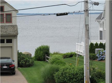 N. Falmouth Cape Cod vacation rental - View from second floor deck