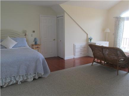 N. Falmouth Cape Cod vacation rental - Bedroom with ocean facing sitting area