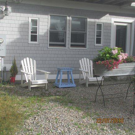 N. Falmouth Cape Cod vacation rental - Front sitting area facing ocean