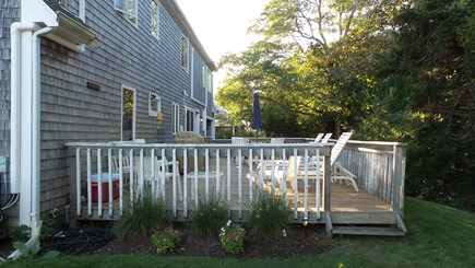 Hyannis Cape Cod vacation rental - Spacious Deck