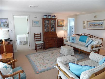 Barnstable Village Cape Cod vacation rental - Another great spot to gather- upstairs den with TV, comfy seating