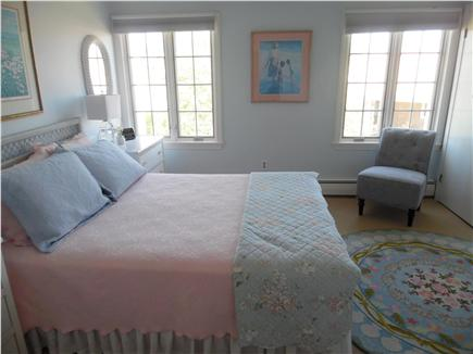 Barnstable Village Cape Cod vacation rental - Another Queen room- new linens & soothing, pastel beach colors
