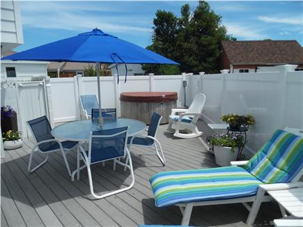 Barnstable Village Cape Cod vacation rental - Enjoy the wonderful, private, outdoor deck with hot tub.